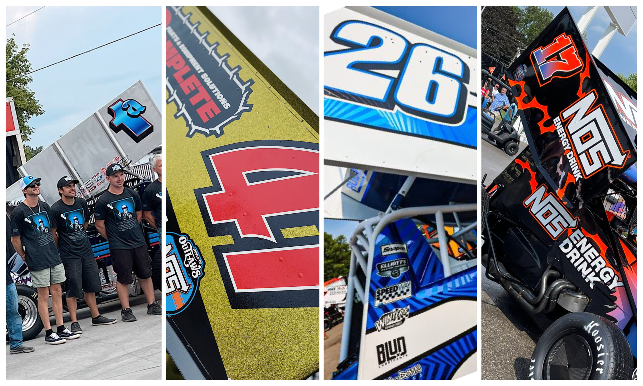 60th Knoxville Nationals paint scheme preview