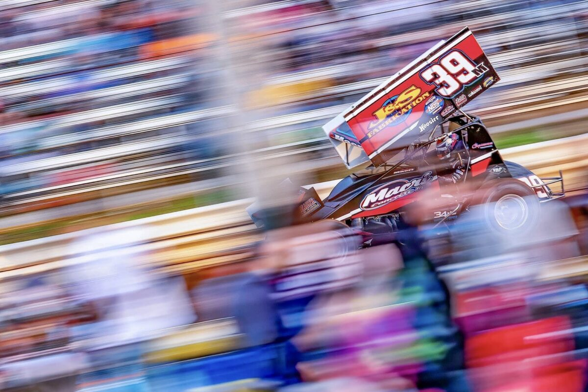 Anthony Macri talks about making the Knoxville Nationals main event
